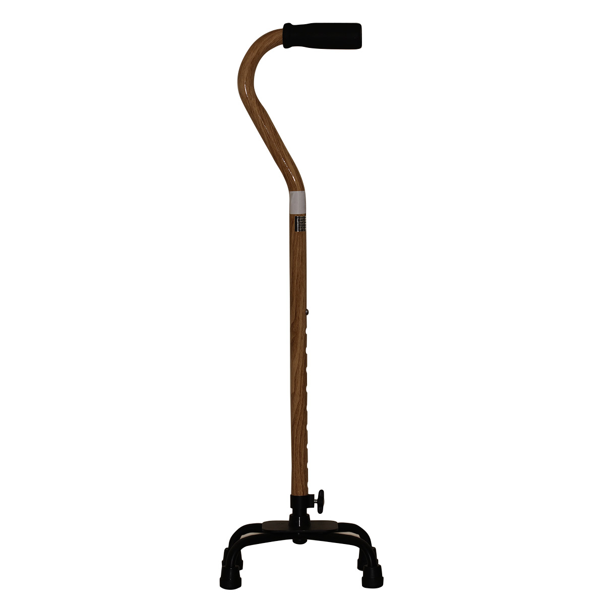 Adjustable Quad Cane Wood Effect