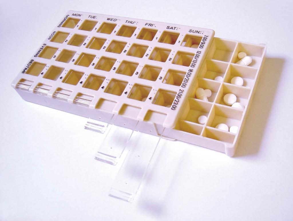 Medi-Time 7 Day Pill Box