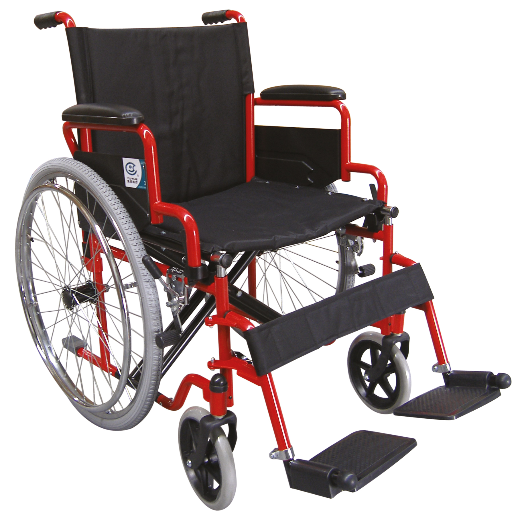 Self-Propelling Wheelchair